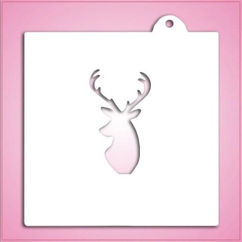 Medium Crop Of Deer Head Stencil