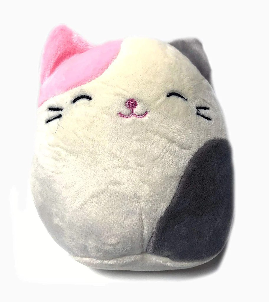 Cat Plush Toy Kelly Toy Squishmallows 5 Inch Pink And Grey Cat Plush