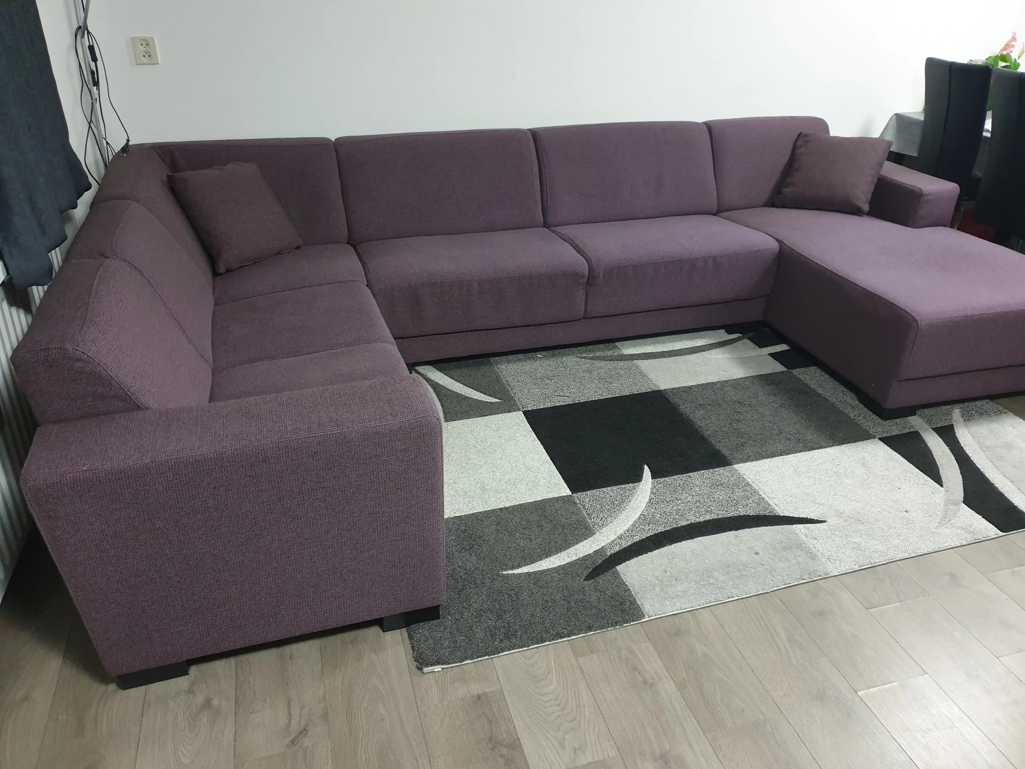 Paarse Bank Mooi Nette Paars Groot U Bank Banxtel Refurbished Couches
