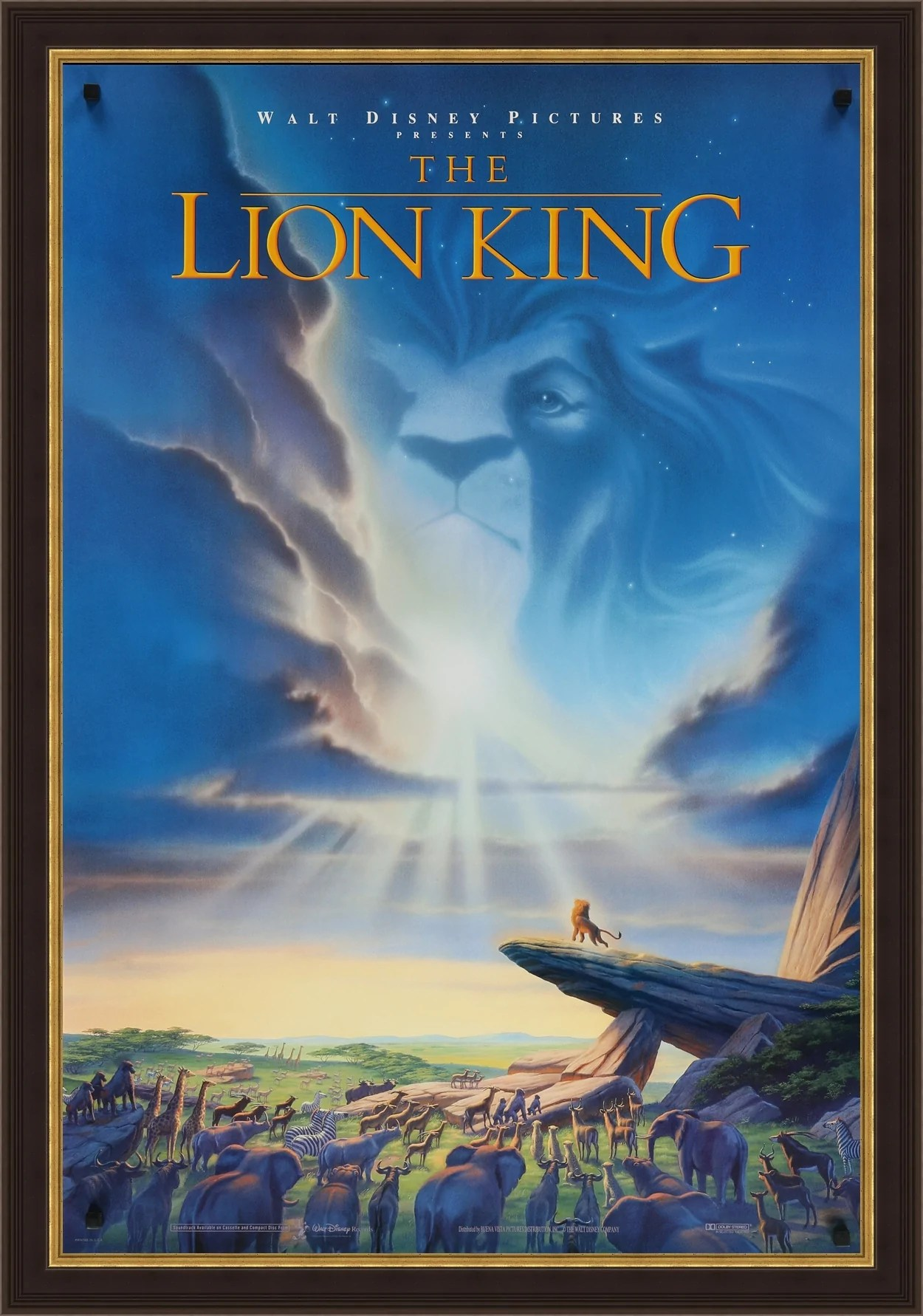 the lion king movie poster artist star