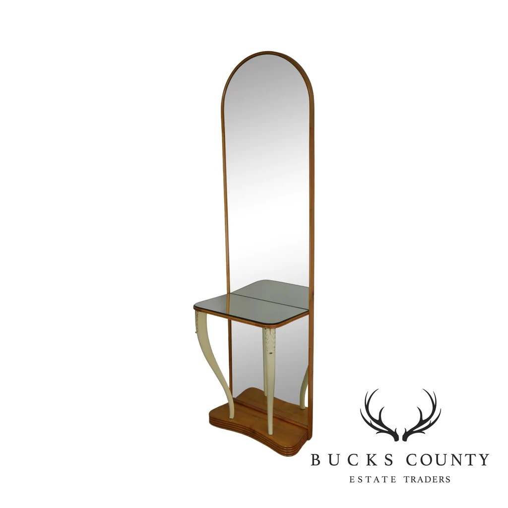 Art Deco Style Mirror French Art Deco Style Hall Mirror Console Table Bucks