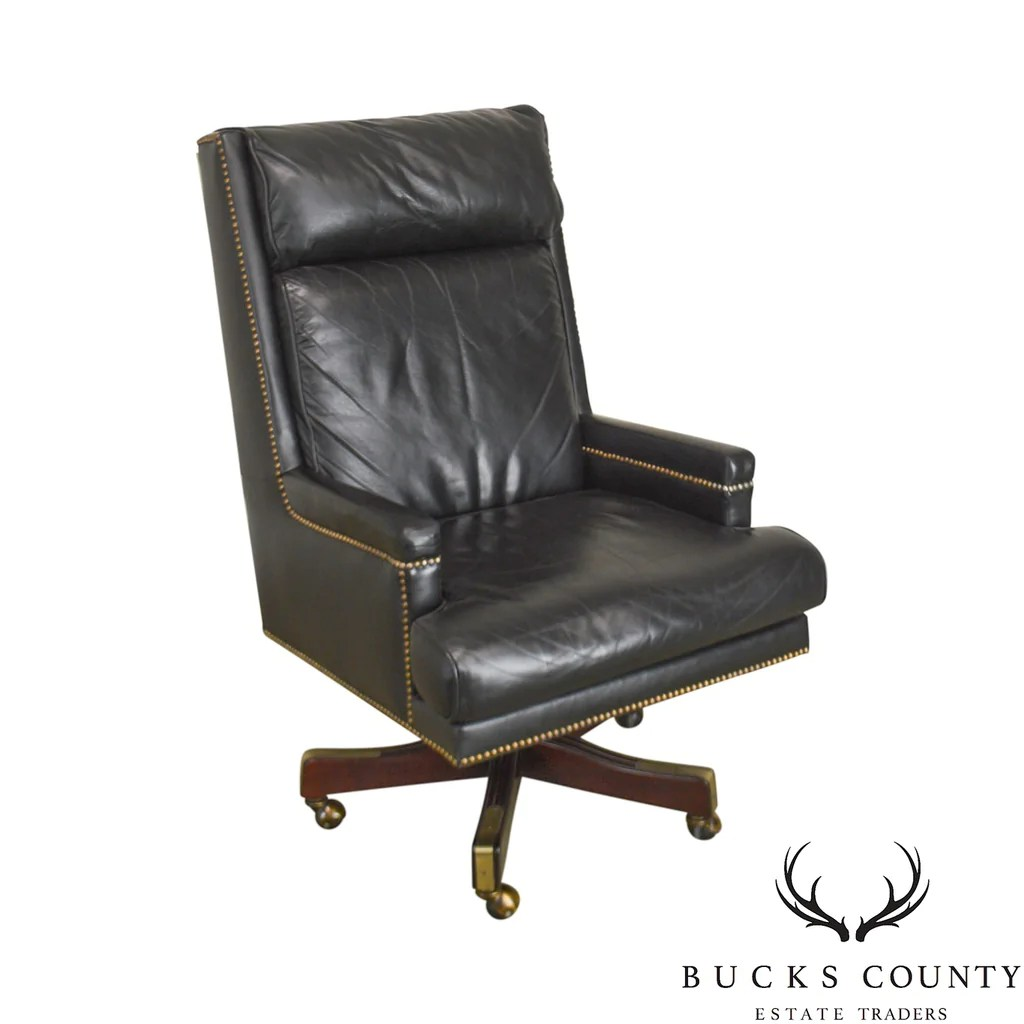 Mahogany Office Desk St Timothy Mahogany Black Leather Executive Office Desk Chair