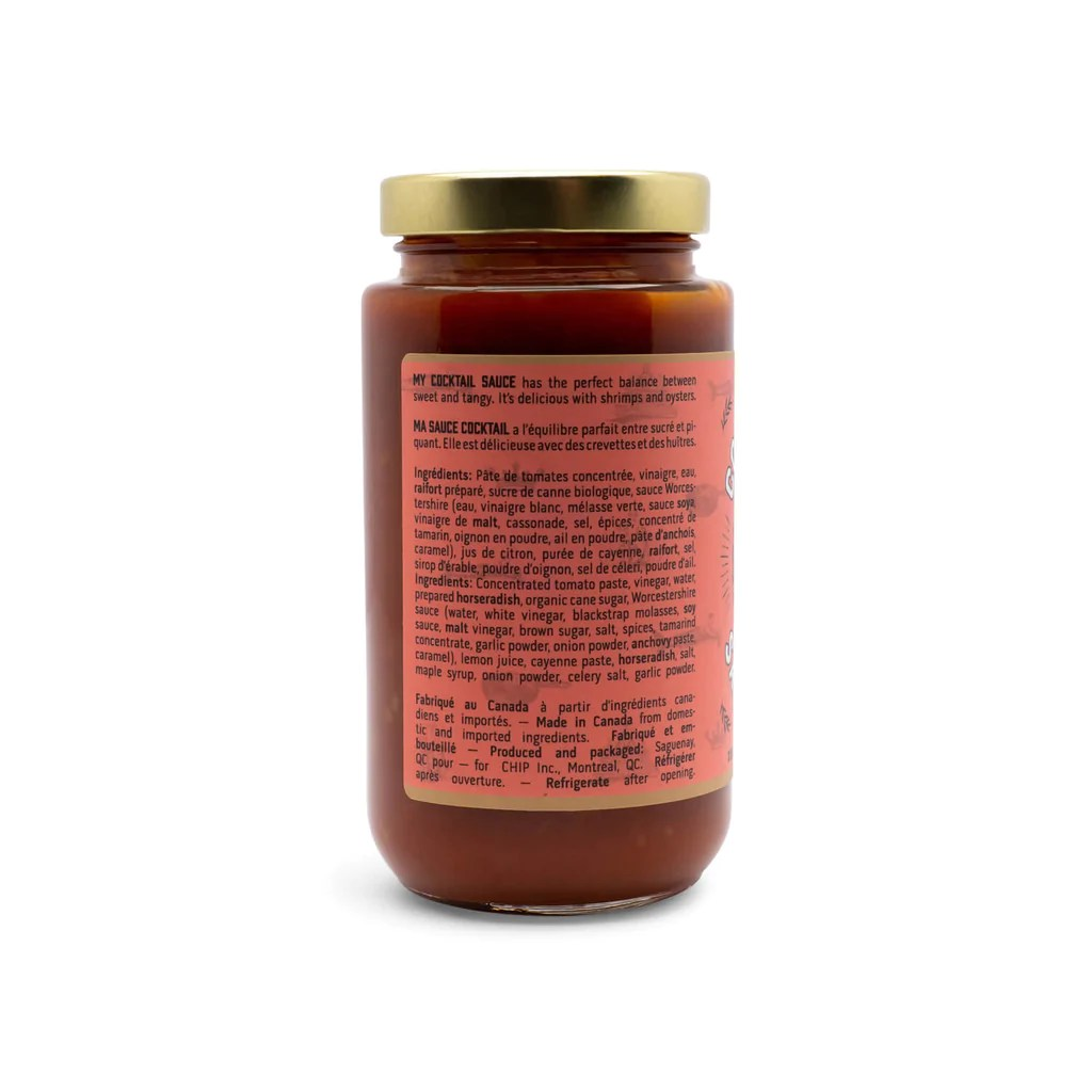 Chuck Hughes Hot Pepper Spread 375ml Brunette