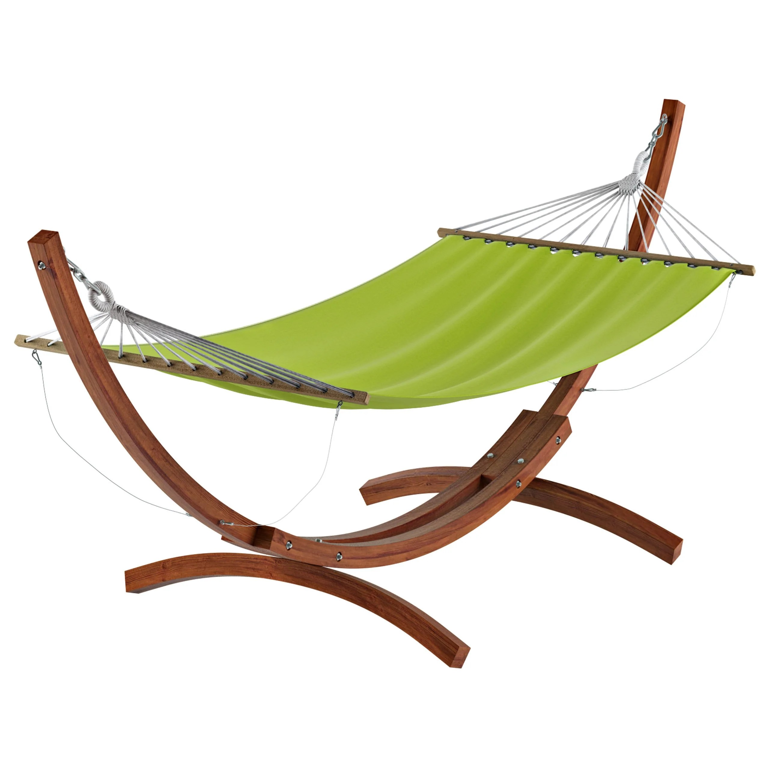 Free Standing Patio Hammock In Canvas Clearance Corliving Furniture Us - Garden Furniture Clearance Warehouse