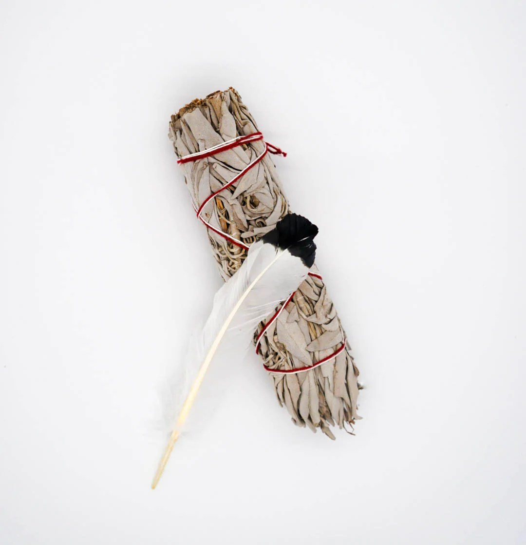 White Sage Paint Smudge Stick White Sage Smudge Stick