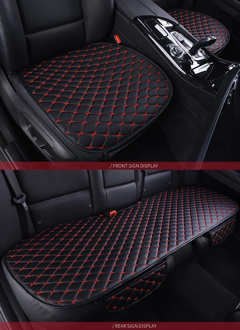 Car Seat Cushions Australia Leather Car Seat Cushion Diamond Stitch