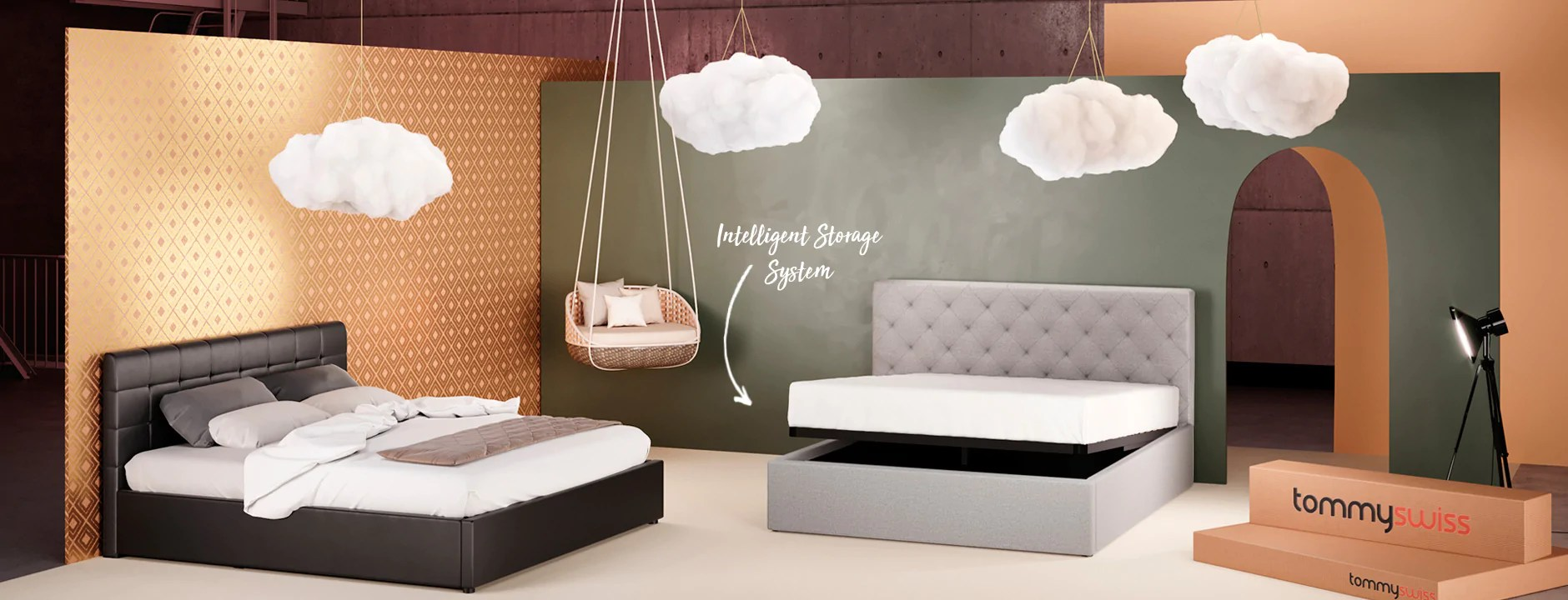 Storage Beds Australia Buy Furniture Homewares Online Tommy Swiss