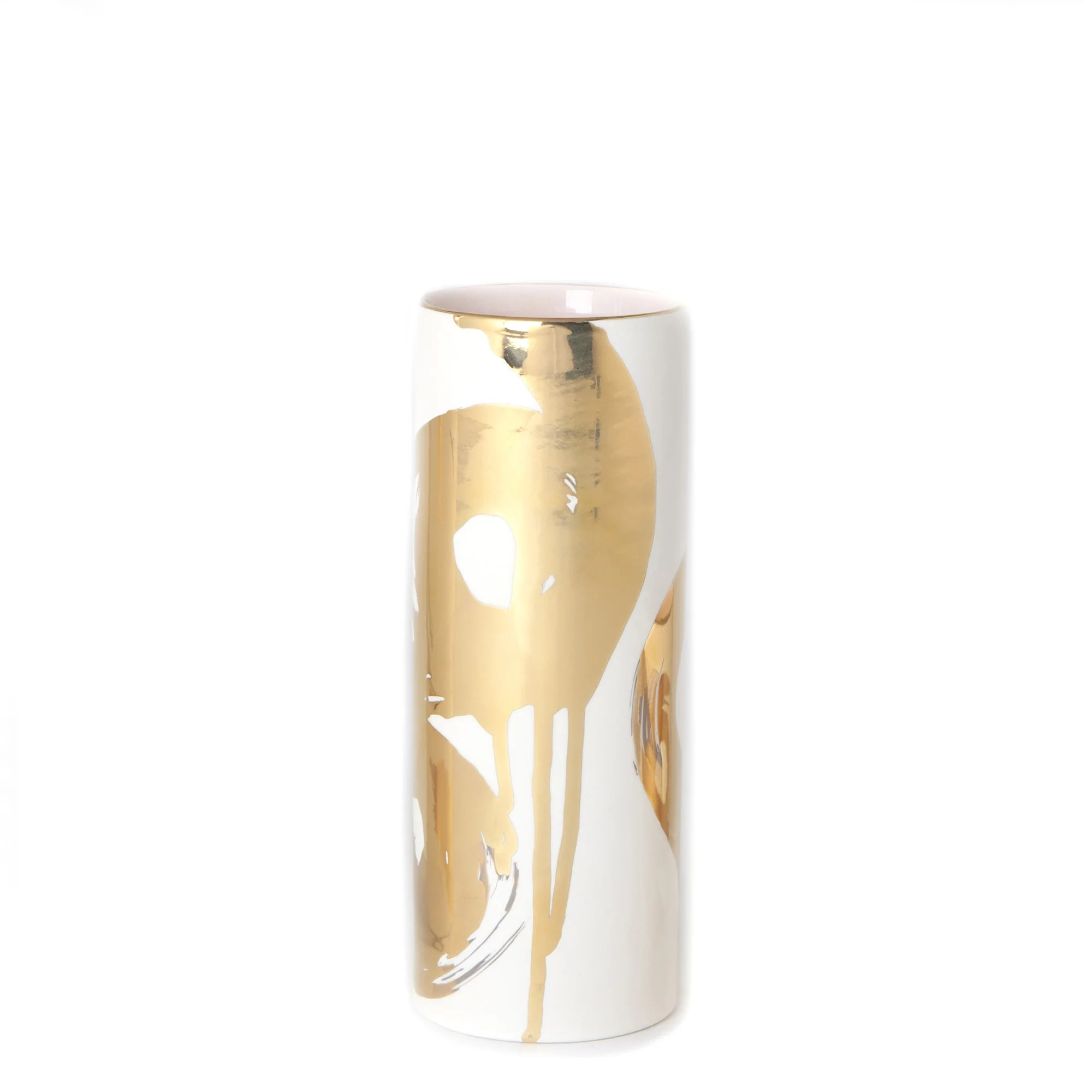 Vase Gold The Breaker S Splash 7 Skinny Vase