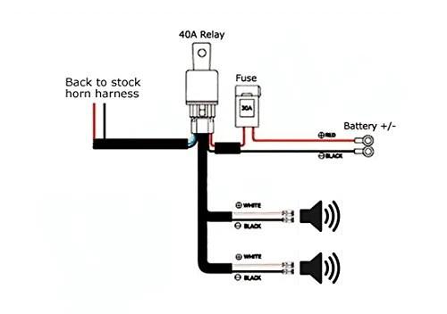 automotive relay wiring harness