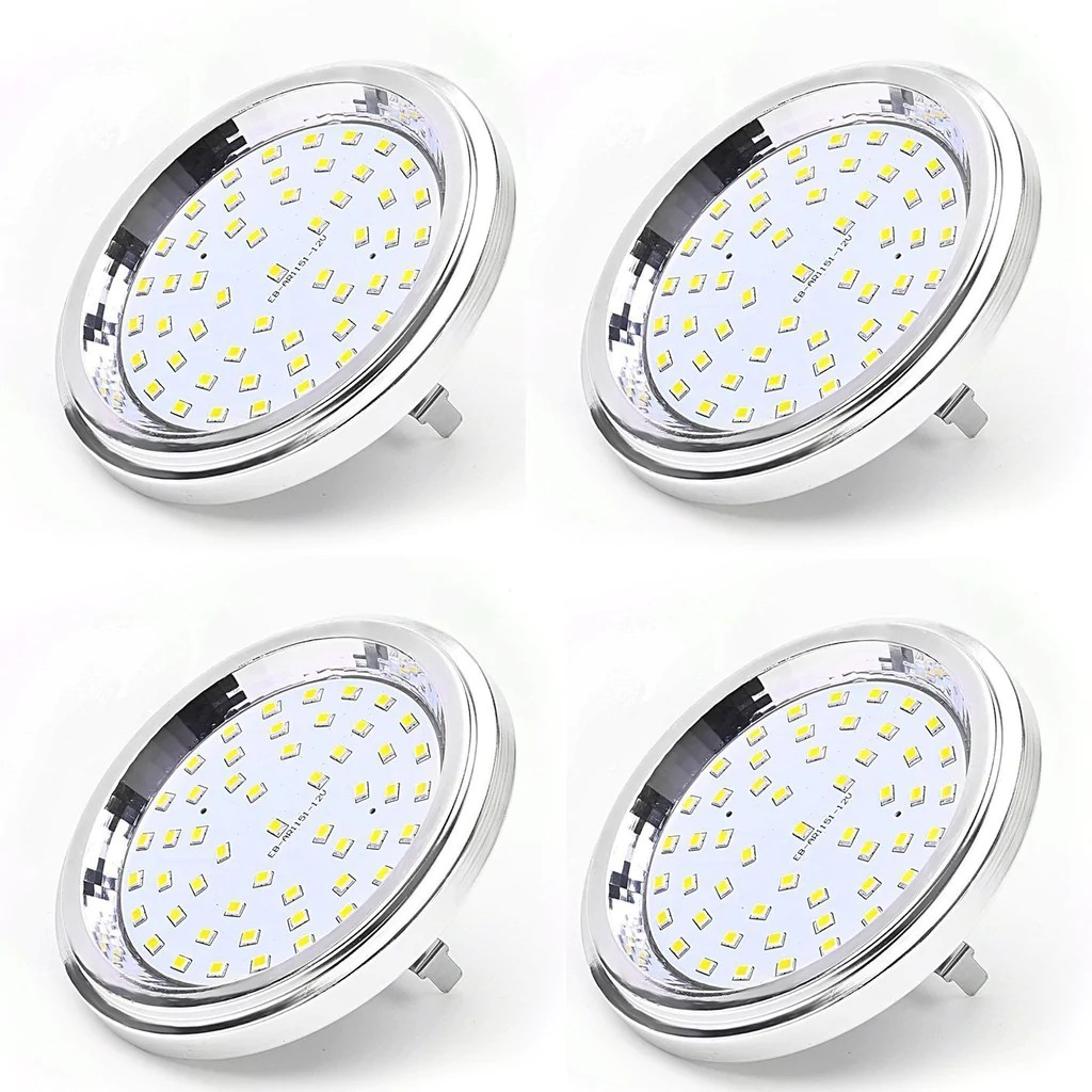 Led G53 Aiboo 12v Led Ar111 Bulb Light 7w Smd G53 Base 120d Beam Angle 600lm A
