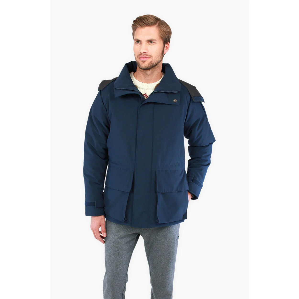 Tom Tailor Denim Men S Tech Parka 411o Long Sleeve Coat Blue Https Thelasthunt Daily Https Thelasthunt