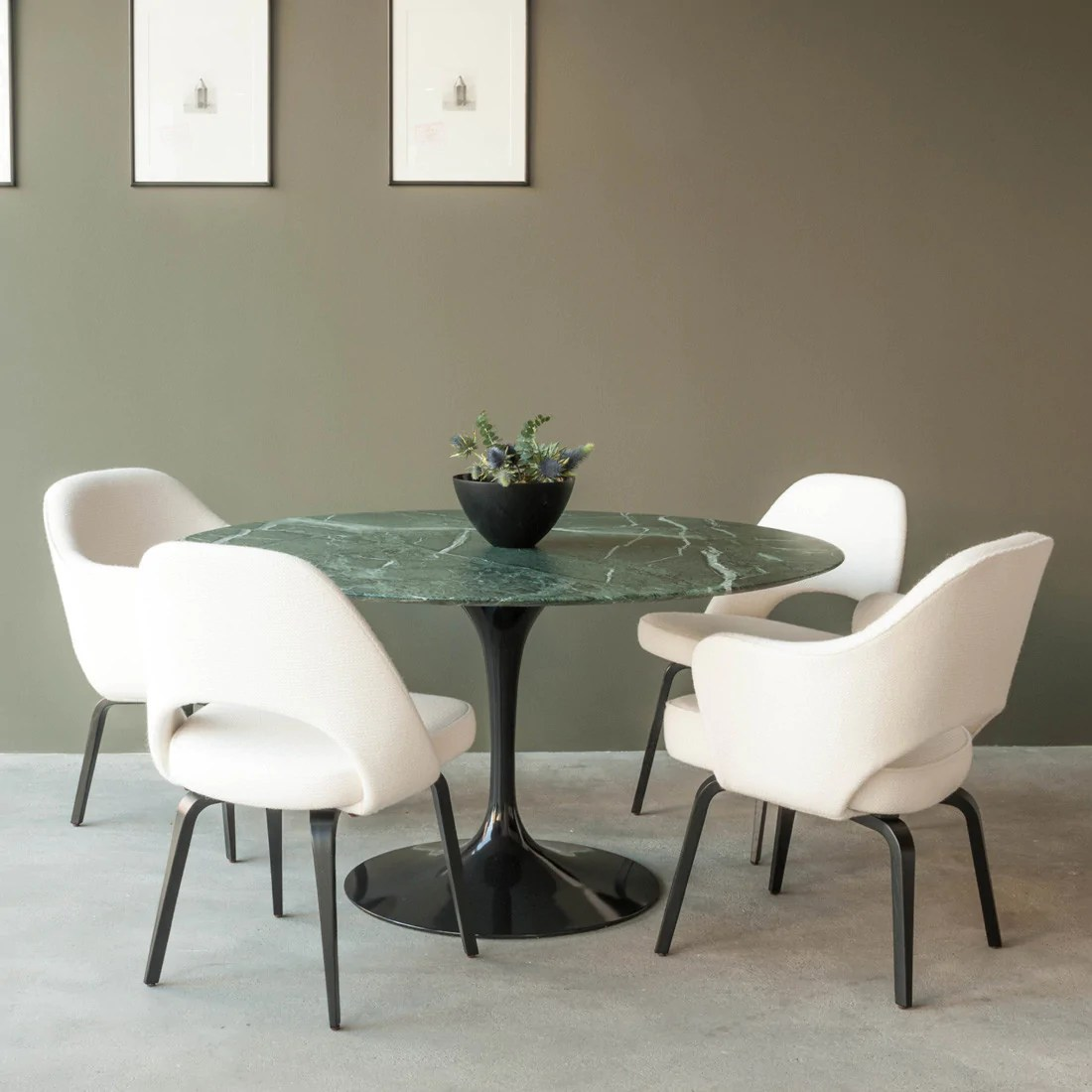 Saarinen Knoll Table Tulip Dining Table By Knoll Haus