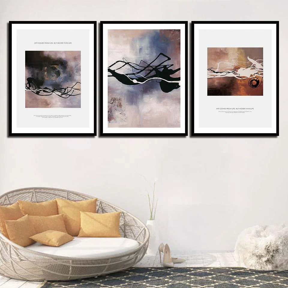 Wall Prints For Living Room Australia Modern Prints For Living Room Wall Decor Office Nordic Fashion