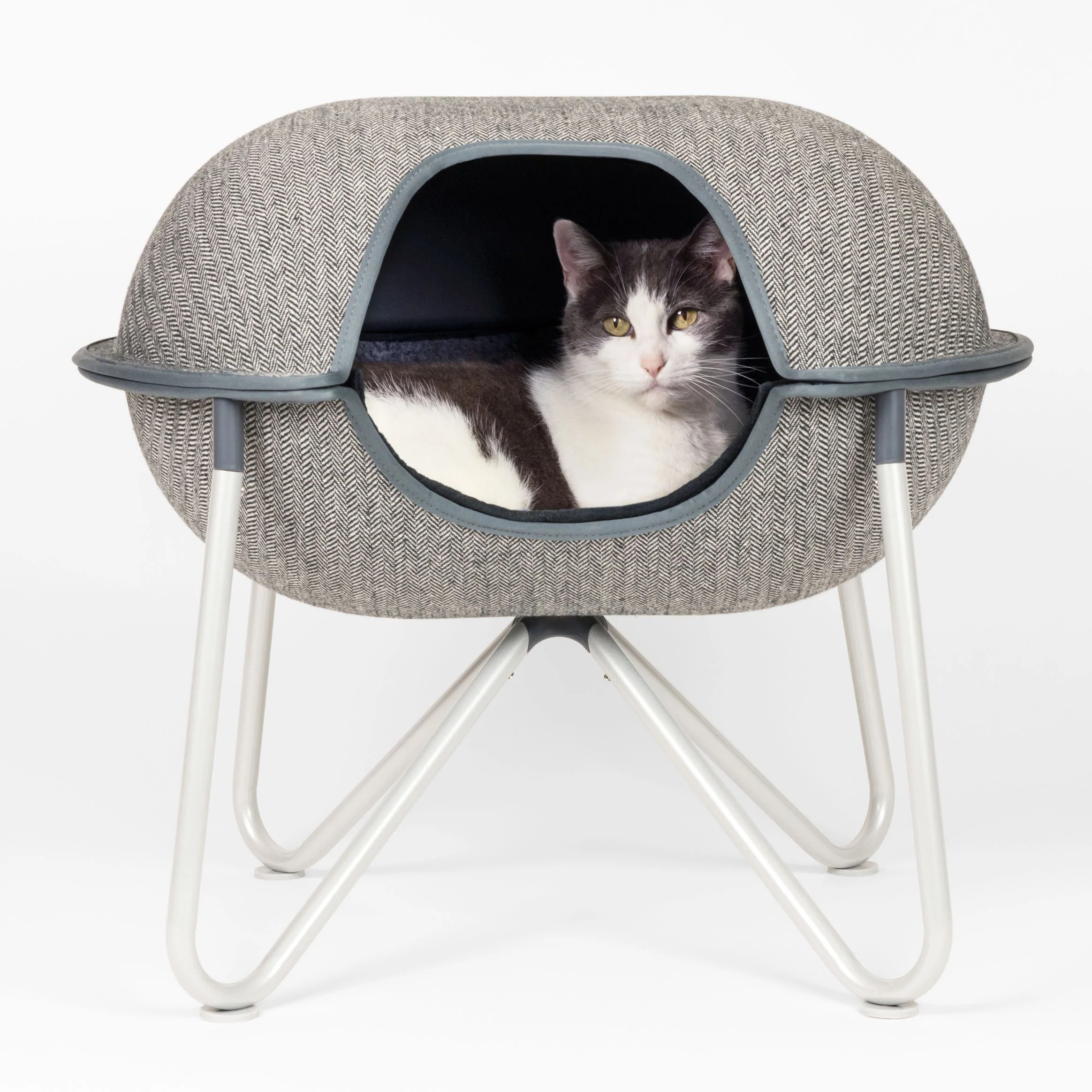 Cat Furniture For Sale Buy Modern Cat And Dog Beds Online Herringbone Hepper Pod