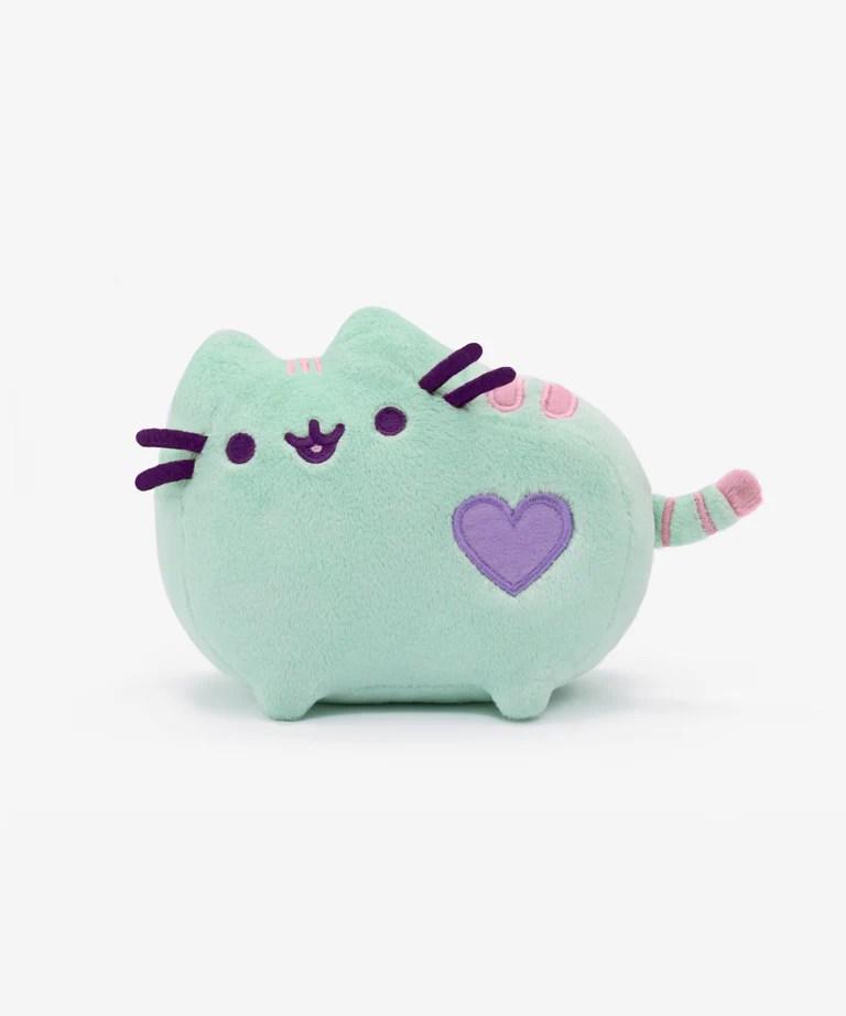 Pusheen Iphone Wallpaper Cute Mini Pastel Pusheen Plush Toy In Mint Hey Chickadee