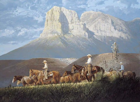 Horses In The Fall Wallpaper Buy Texas Landscape Art Prints Online Charles Beckendorf