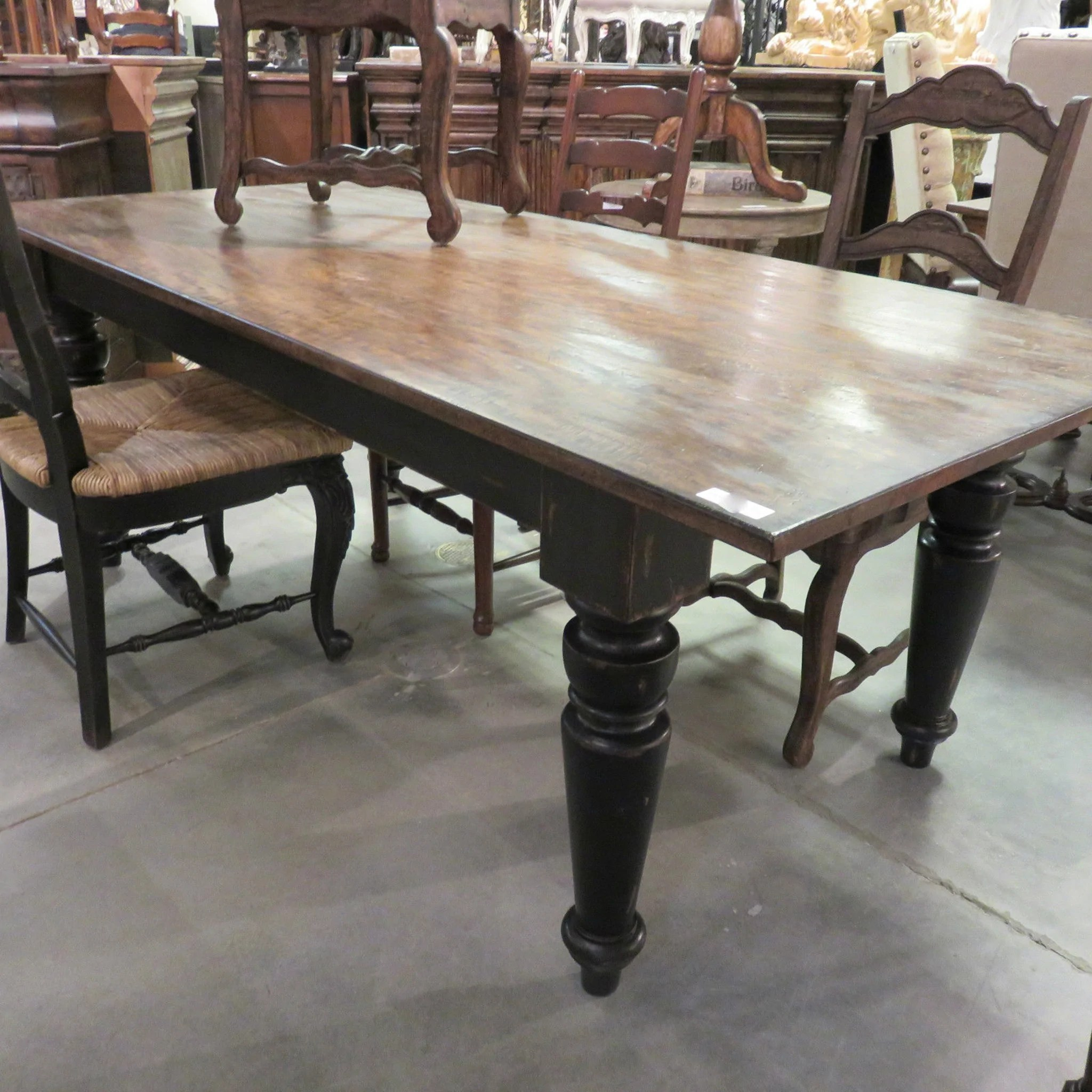 Dining Room Furniture Rustic Rustic Farmhouse Dining Table 84