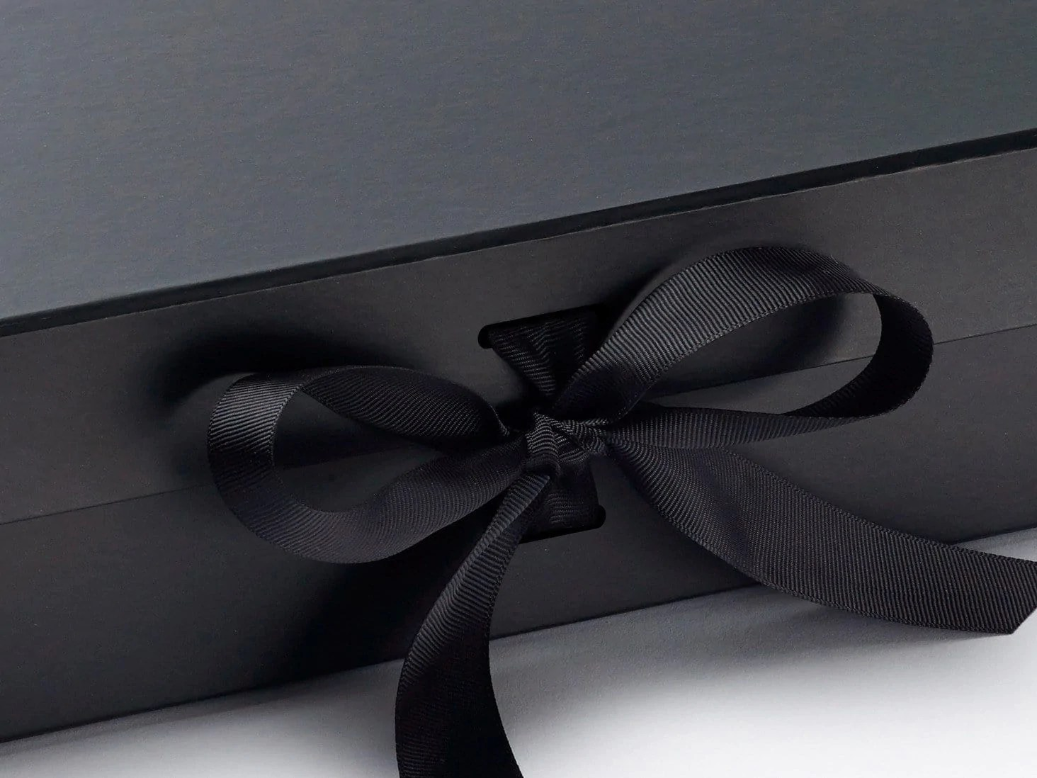 Black Gift Boxes Black Large Gift Boxes With Changeable Ribbon
