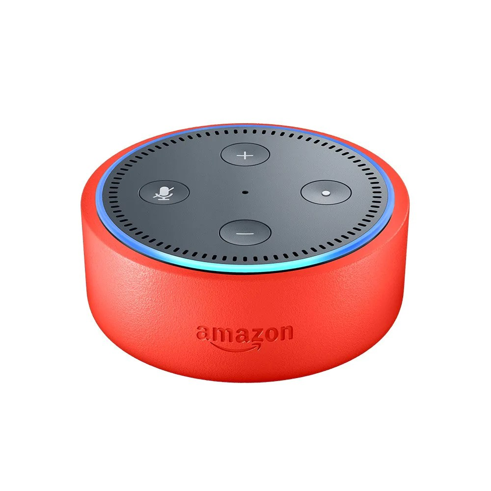 Alexa Dot Echo Dot Kids Edition A Smart Speaker With Alexa For Kids Punch Red Case