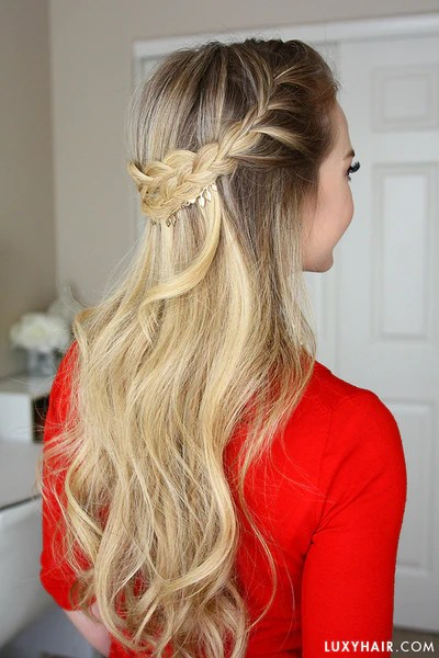 Hair Bangs Quiz French Braid Crown Holiday Hairstyle