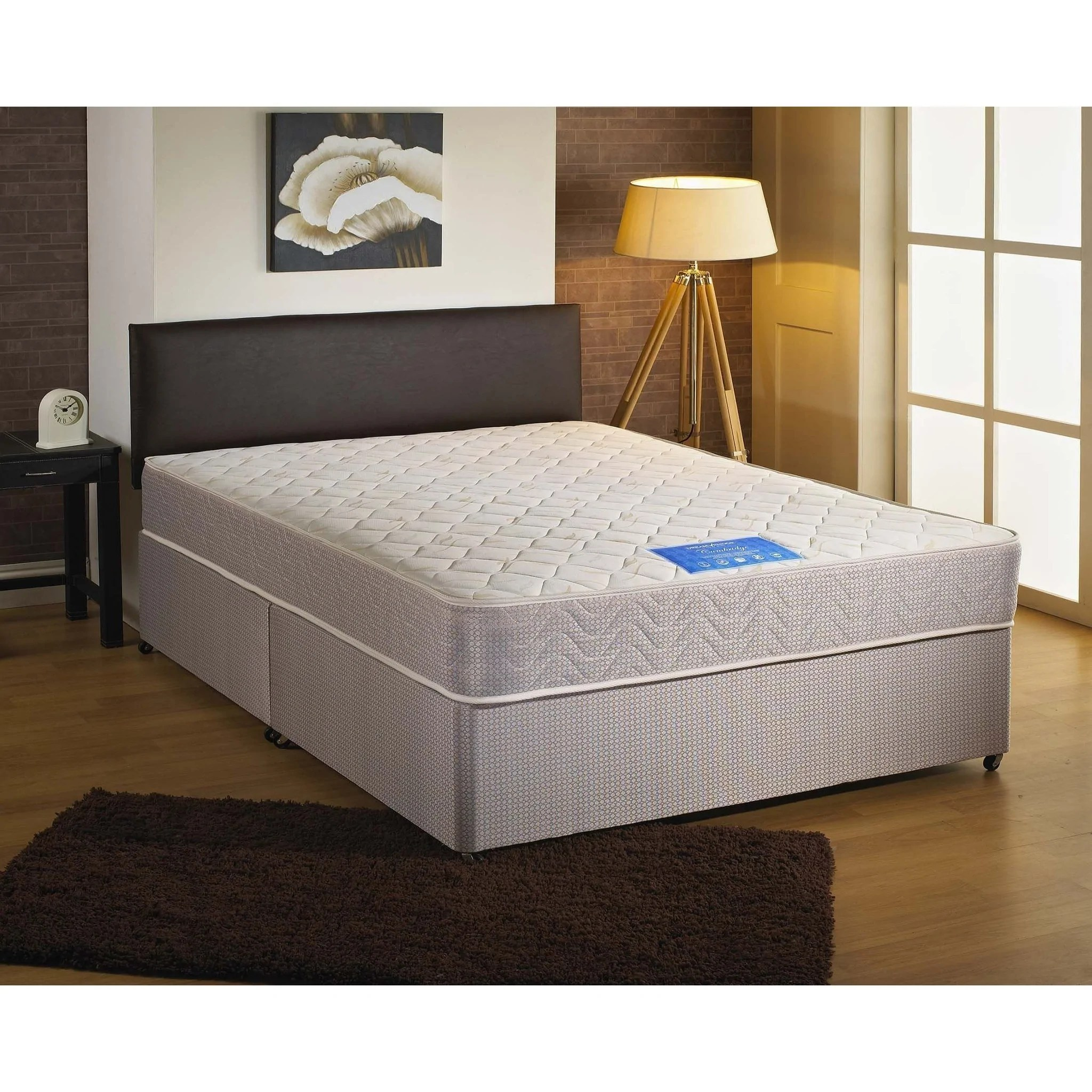 Double Divan Beds Cambridge Double Divan Bed Sure Sleep Beds