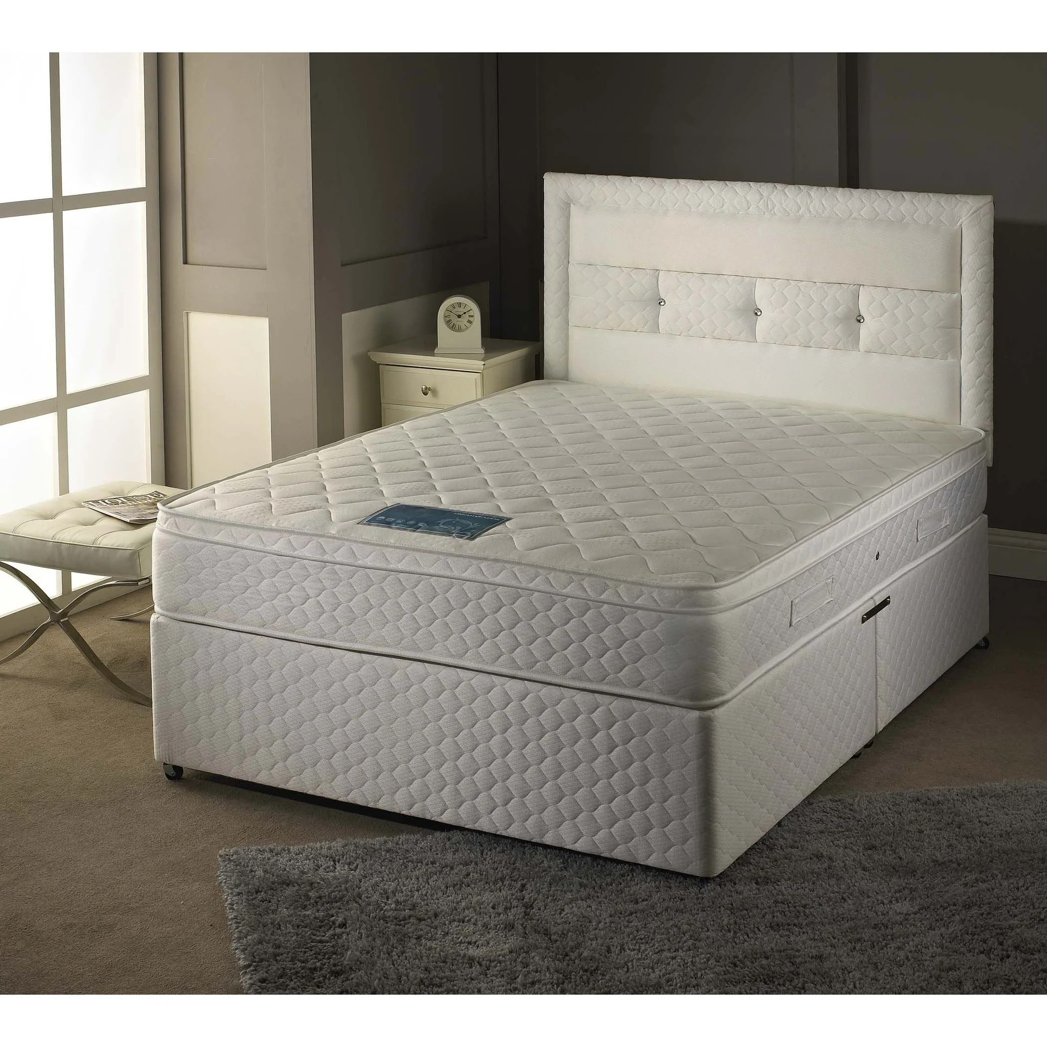 Double Divan Beds Sheraton 1000 Double Divan Bed Sure Sleep Beds