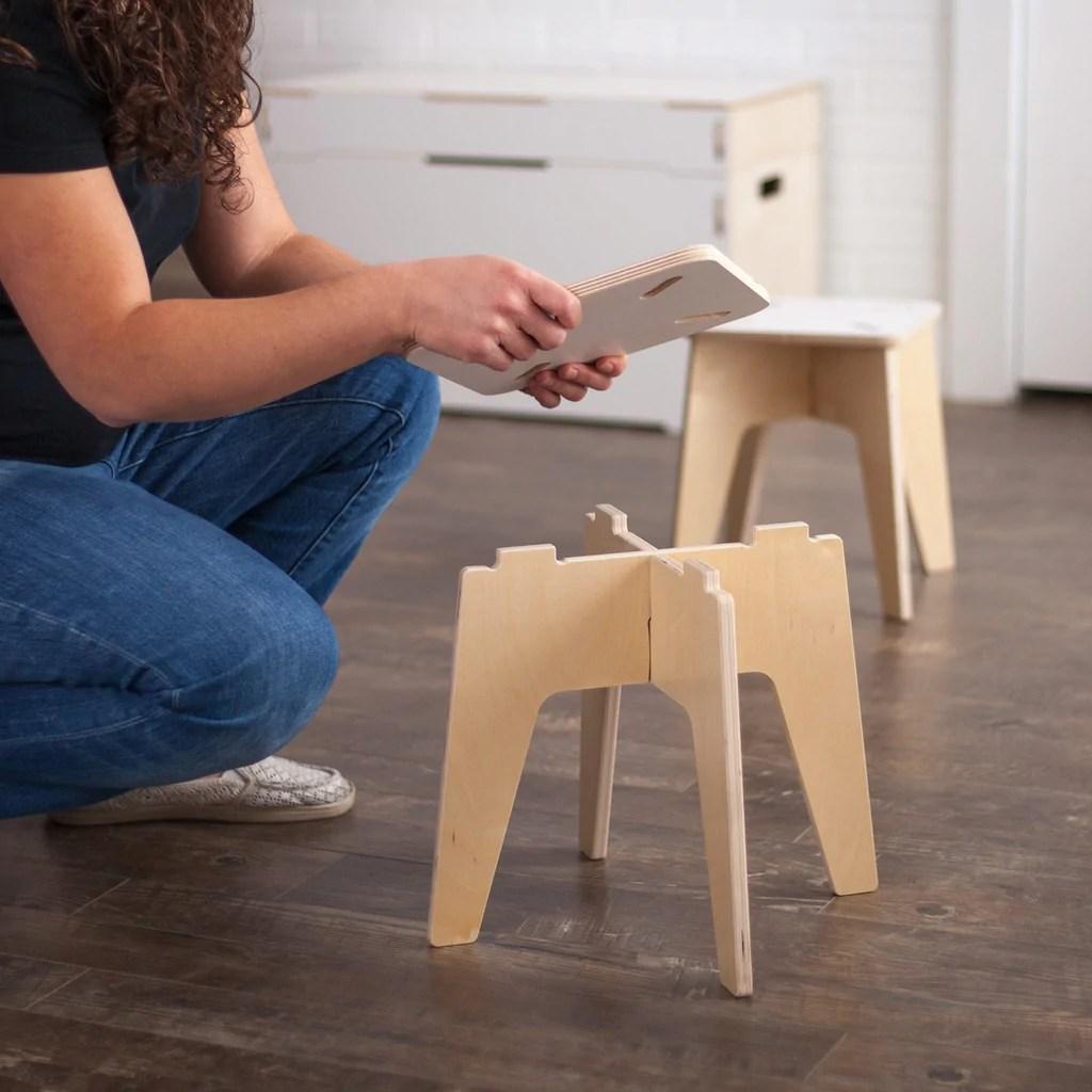 Kids Wooden Stool Wooden Kids Stools Sprout