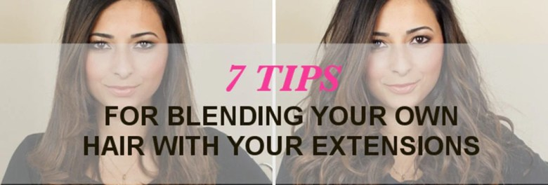 Blending Blunt Cut Short Hair With Clip In Extensions