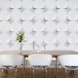 V2 3d Wallpaper Tiles Display Karton Cardboard Furniture