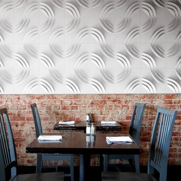 Paperforms 3d Wallpaper Tiles Paperforms Ripple Karton Cardboard Furniture