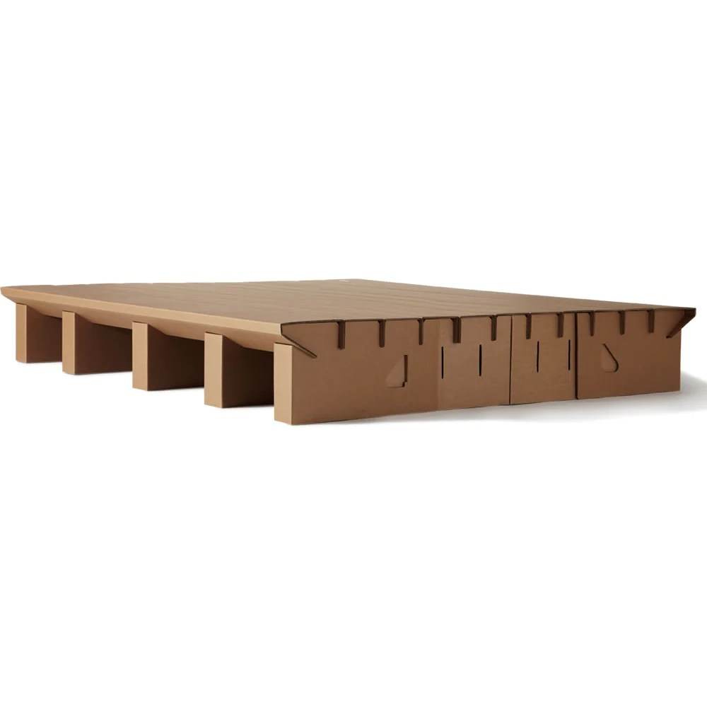 Bed Bases Melbourne The Paperpedic Bed Karton Cardboard Furniture