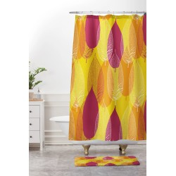 Small Crop Of Yellow Shower Curtain