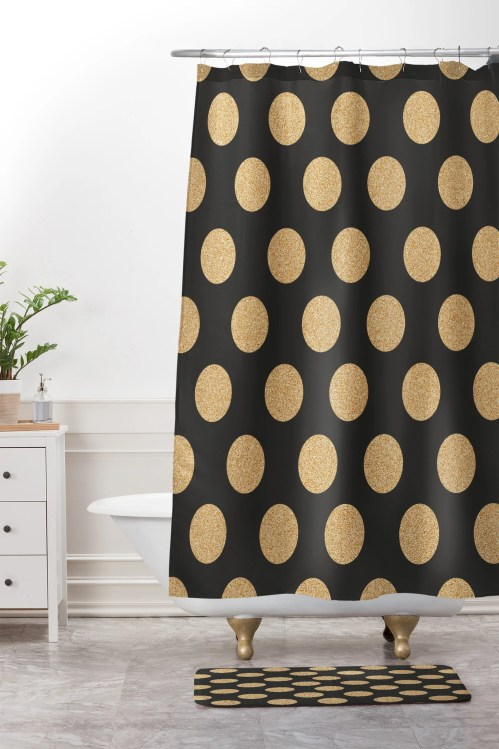 Medium Of Gold Shower Curtain