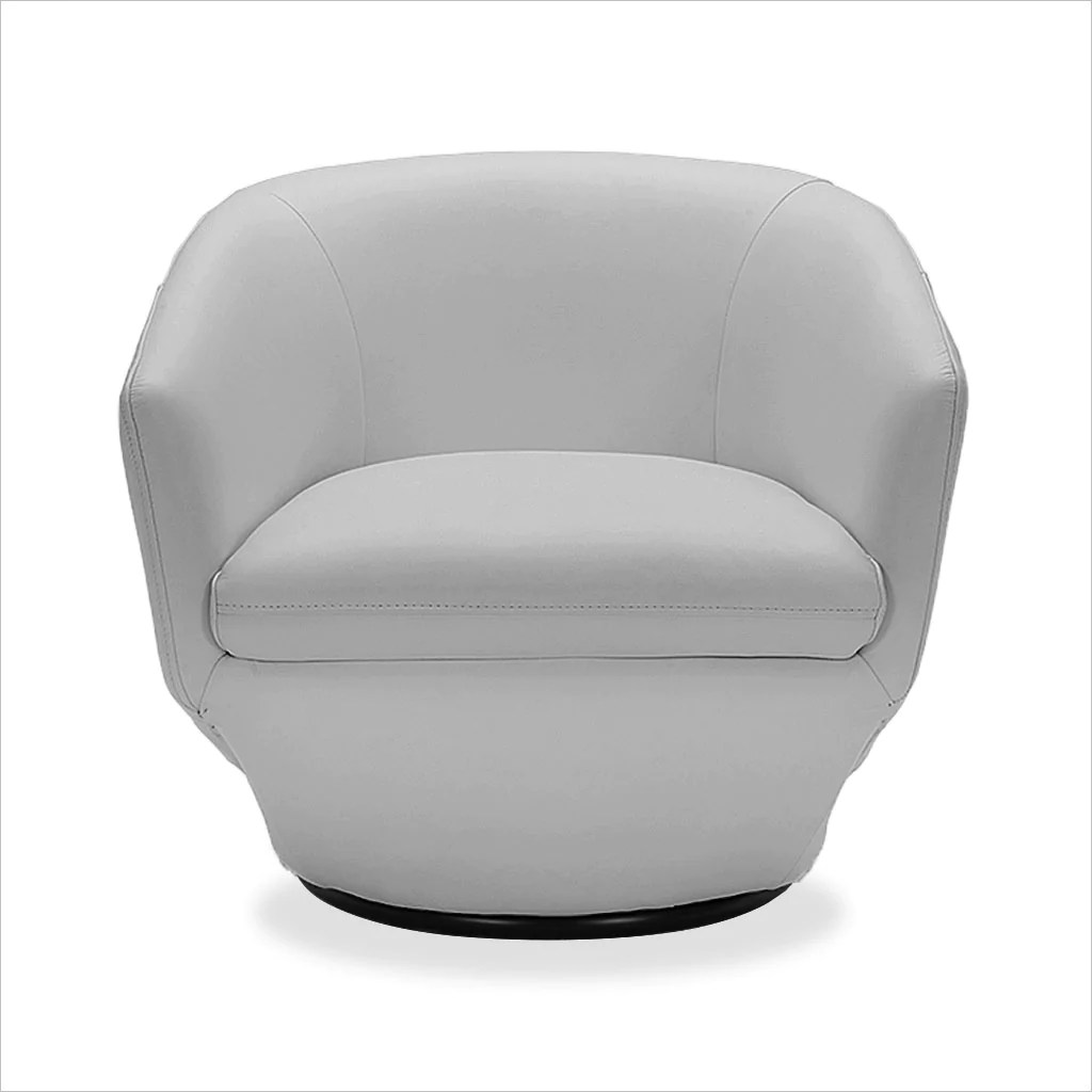 Capri Swivel Chair Grey Scan Design Modern And Contemporary Furniture Store