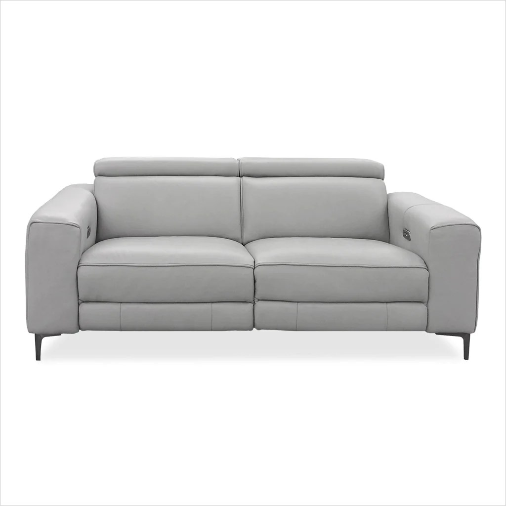 Esther Recliner Loveseat Grey Scan Design Modern And Contemporary Furniture Store