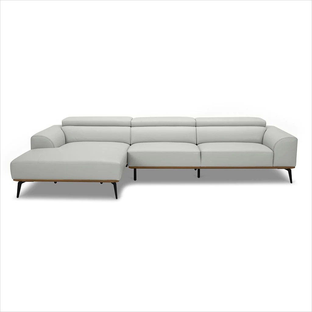 Oslo Sectional Sofa Light Grey Scan Design Modern And Contemporary Furniture Store