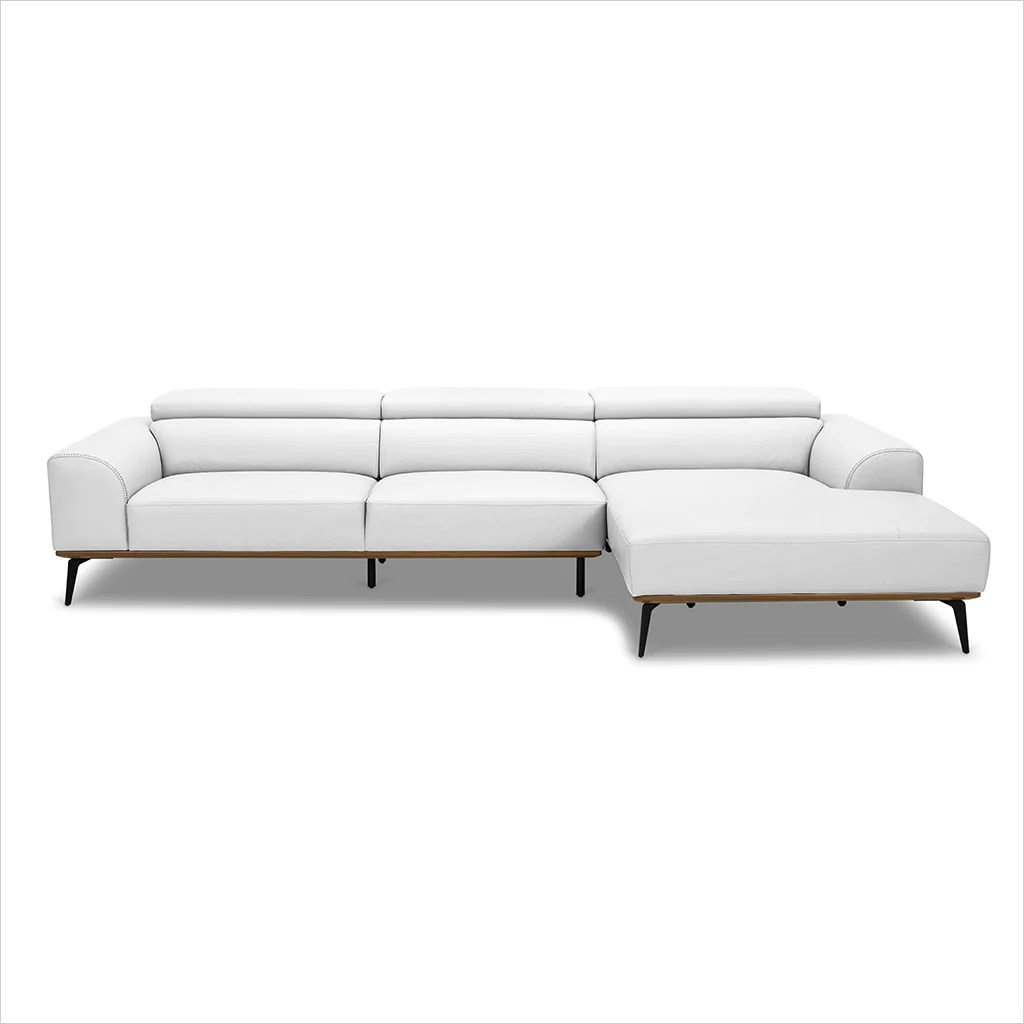 Oslo Sectional Sofa White Scan Design Modern And Contemporary Furniture Store