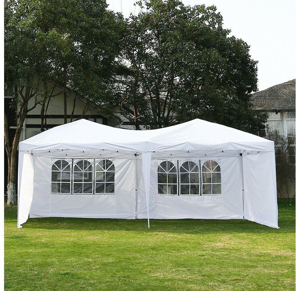 Pop Up Canopy 10 X20 Instant Pop Up Canopy With Removable Side Walls Carry Case