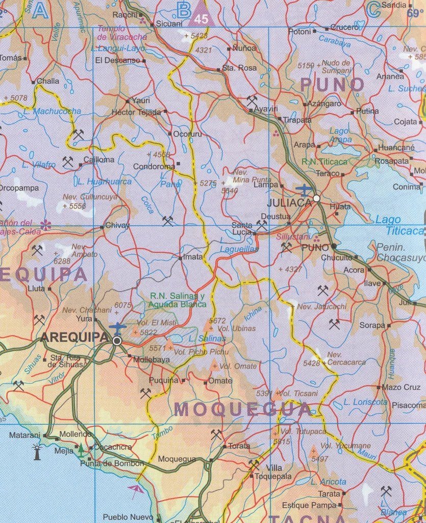 South America Travel Atlas Itmb Buy Road Atlas Of South