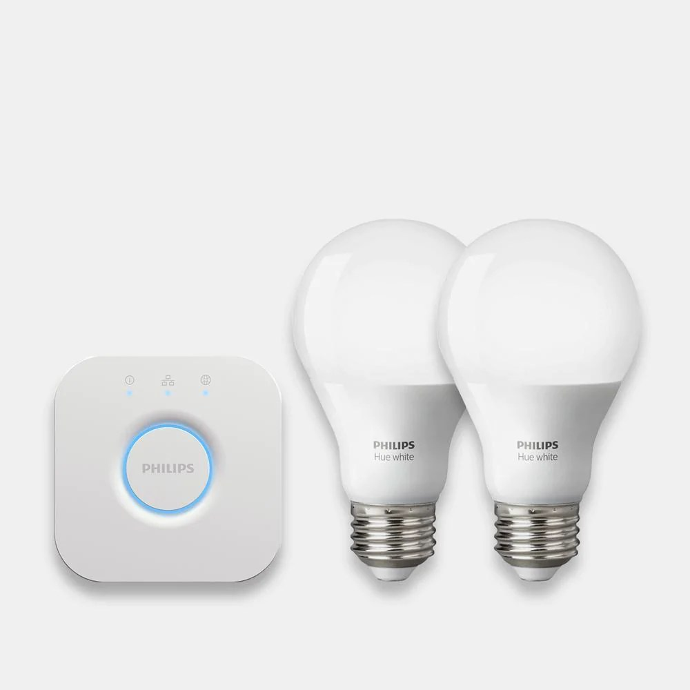 Philips Hub Philips Hue White Bulbs Starter Kit