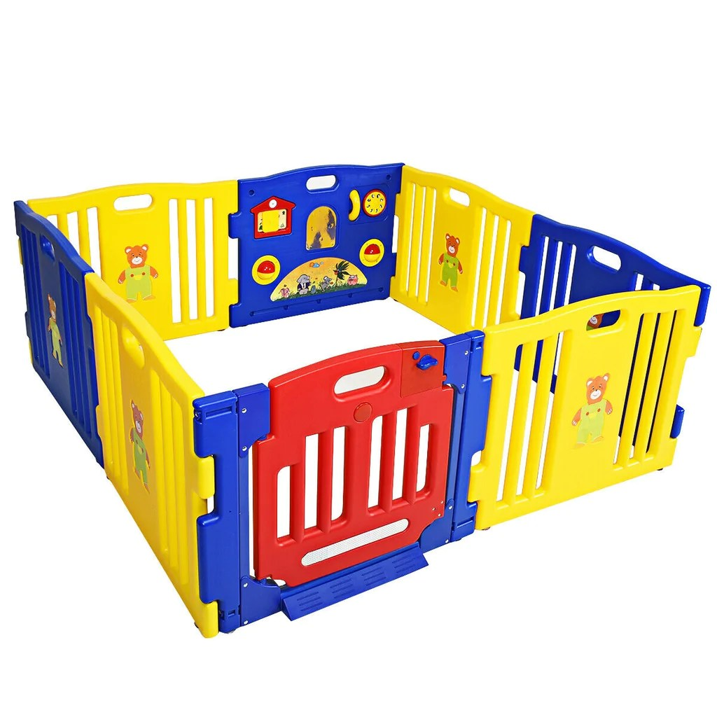 Baby Playpen How Baby Playpen Kids 8 Panel Safety Play Center Yard