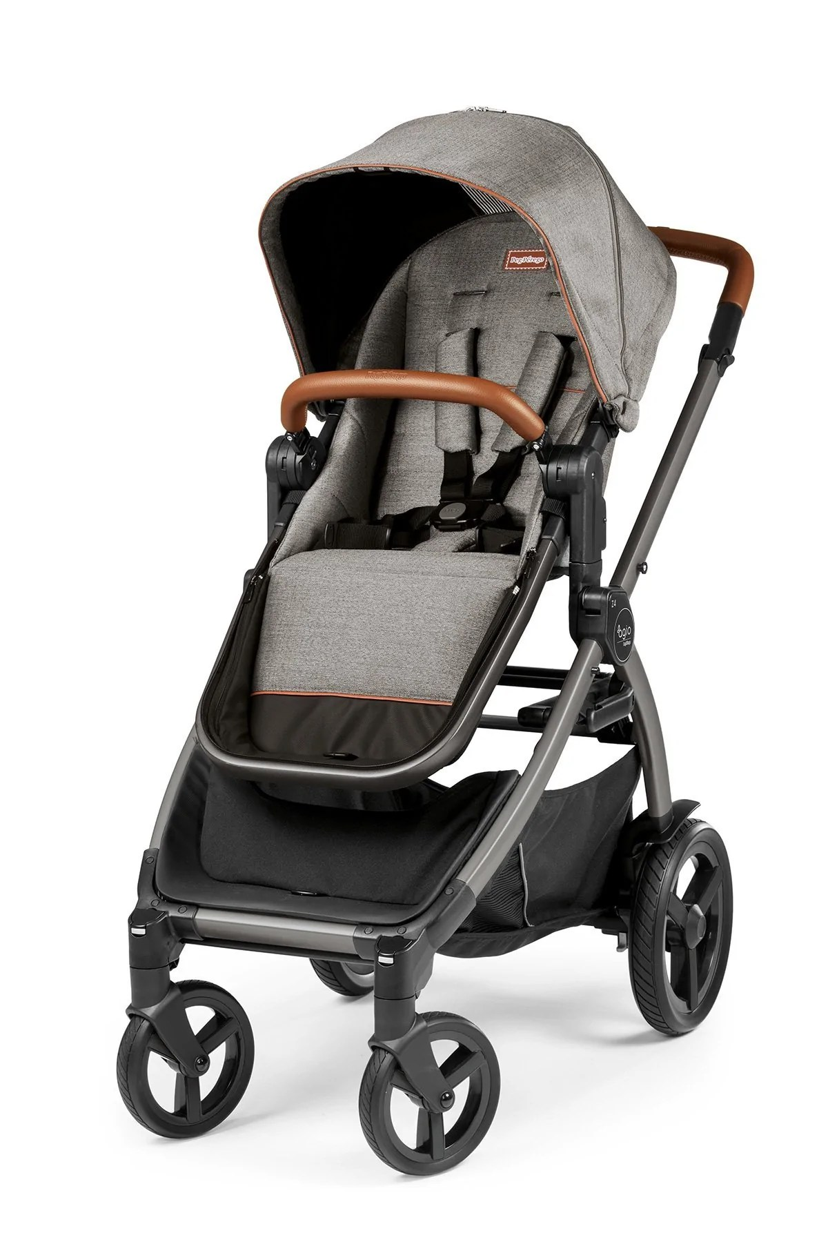 Peg Perego Stroller For Twins Agio By Peg Perego Z4 Full Feature Reversible Stroller