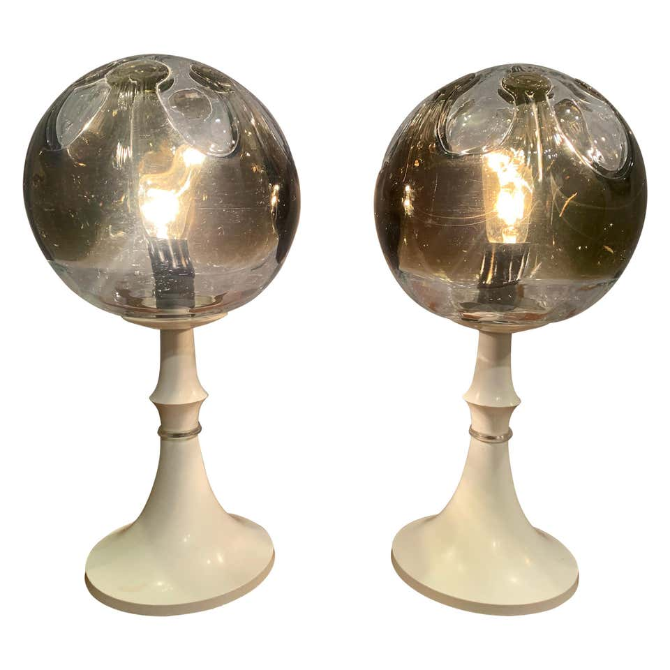 Leuchten Kaiser Pair Of 1960s Kaiser Leuchten Mazzega Table Lamps – Retro Living Uk