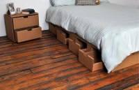 Bedigami, The Cardboard Platform Bed.  Nest Bedding