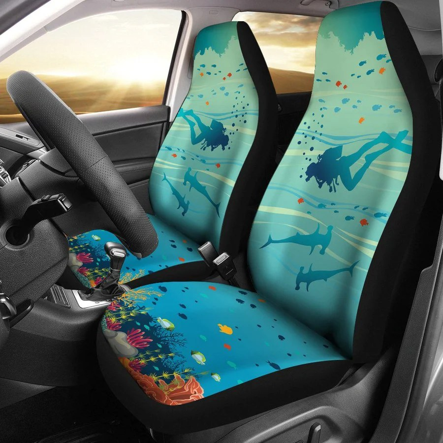 Where Can I Find Seat Covers Ocean Themed Car Seat Covers The Ocean Vibe