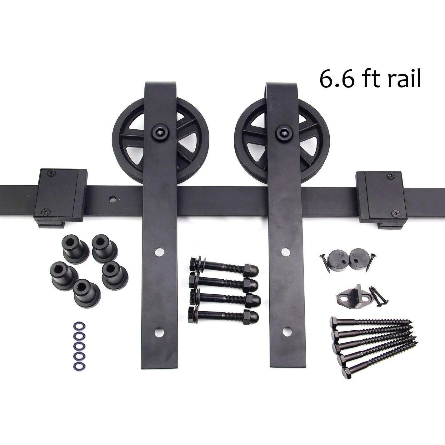 Barn Door Wheels Barn Door Hardware Big Wheels 6 5 Ft Track