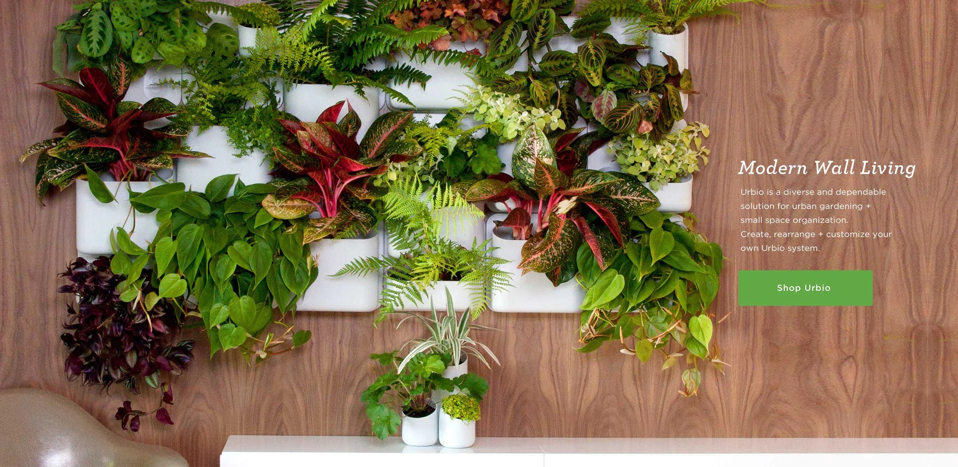 Cubicle Wall Planter Urbio