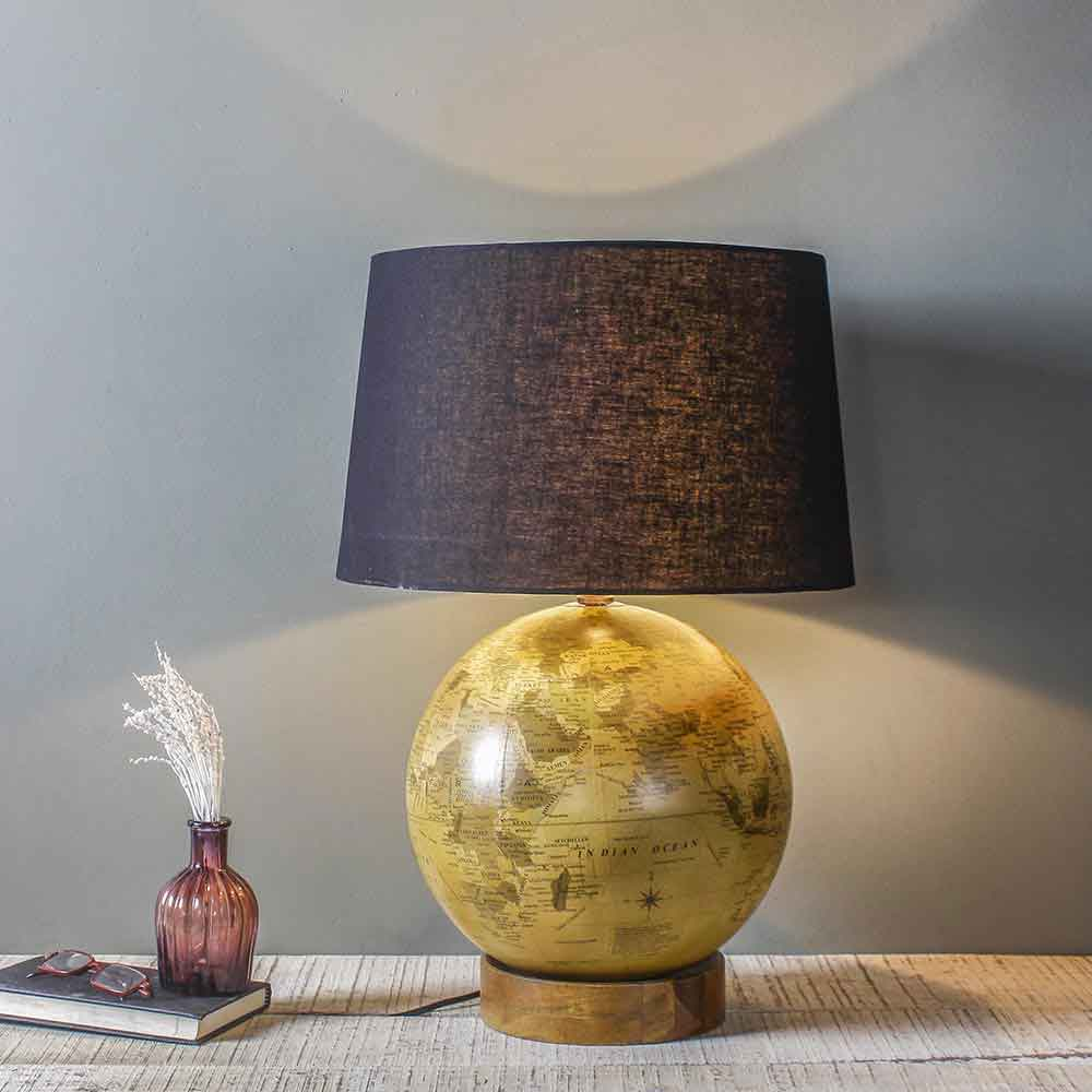 Lamps Online Vintage Orb Table Lamp
