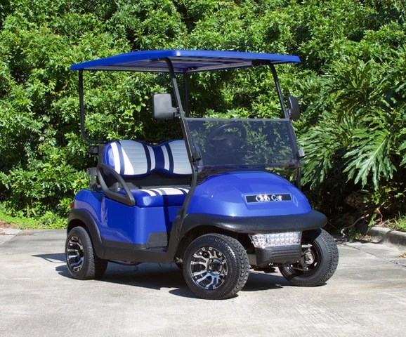 Car Manufacturers Careers Club Car Precedent Electric Blue W Two Tone Seats