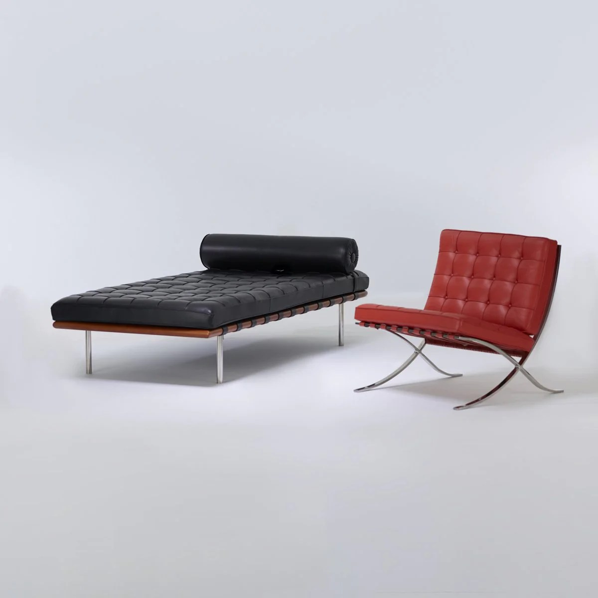 Barcelona Daybed Ludwig Mies Van Der Rohe Barcelona Daybed For Knoll